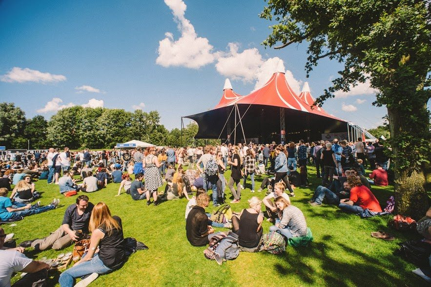 Metropolis Festival - terrein 2016 - Parcifal Werkman