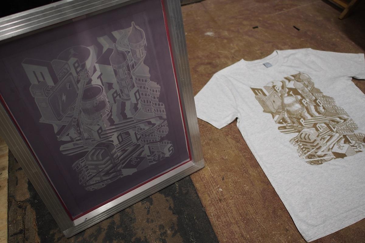 Mudshirt X Bier & Brood X Metropolis Festival Rotterdam shirt merchandise
