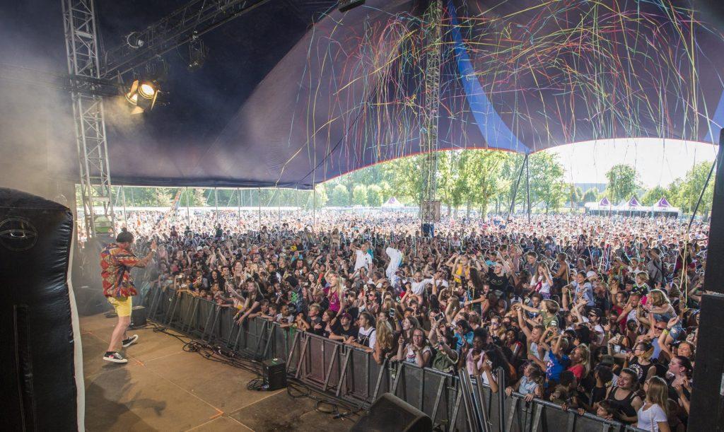 Metropolis Festival 2018 in Rotterdam met Kraantje Pappie door Kamiel Scholten
