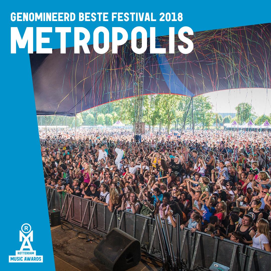 Stem op Metropolis voor Beste Festival van Rotterdam