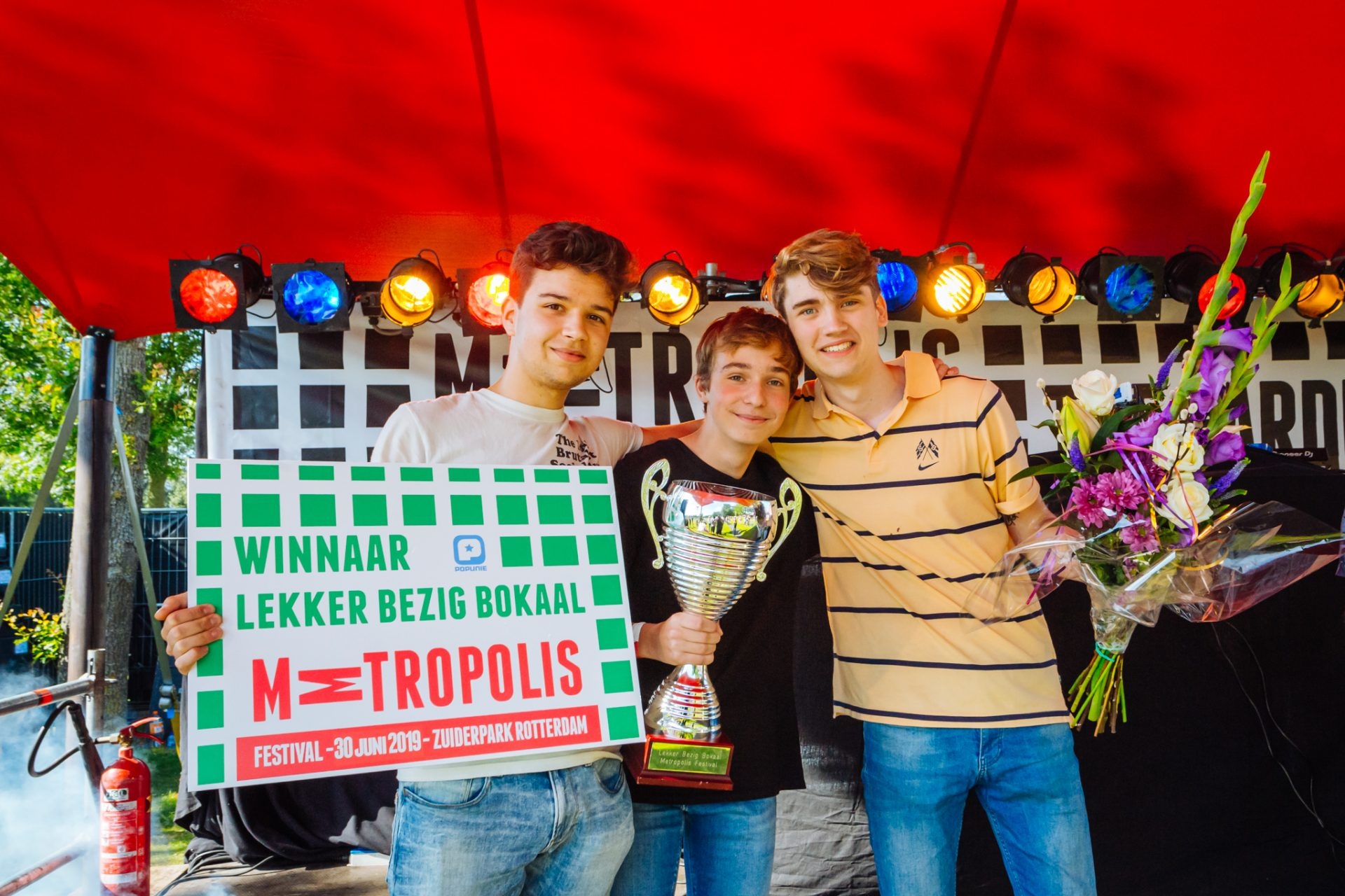 Metropolis Talent Stage winnaar Deveron