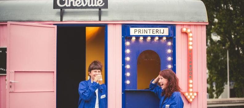 Cineville's Mobiele Flipbook Studio