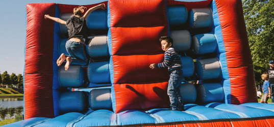Entertainment voor kids & festivalmarkt