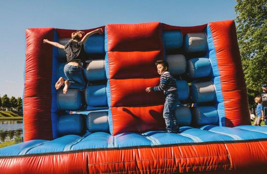 Entertainment voor kids & festivalmarkt
