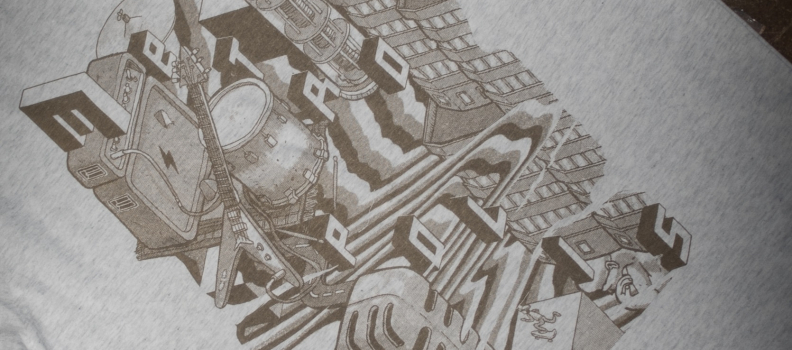 Moddervet Metropolis shirt!
